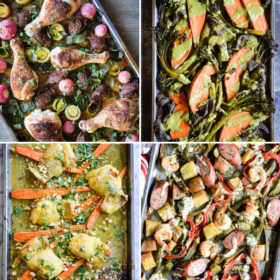 How to Make a Sheet Pan Dinner + 12 Recipes