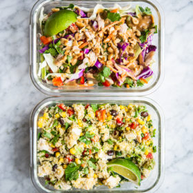 Easy Meal Prep Lunch Plan