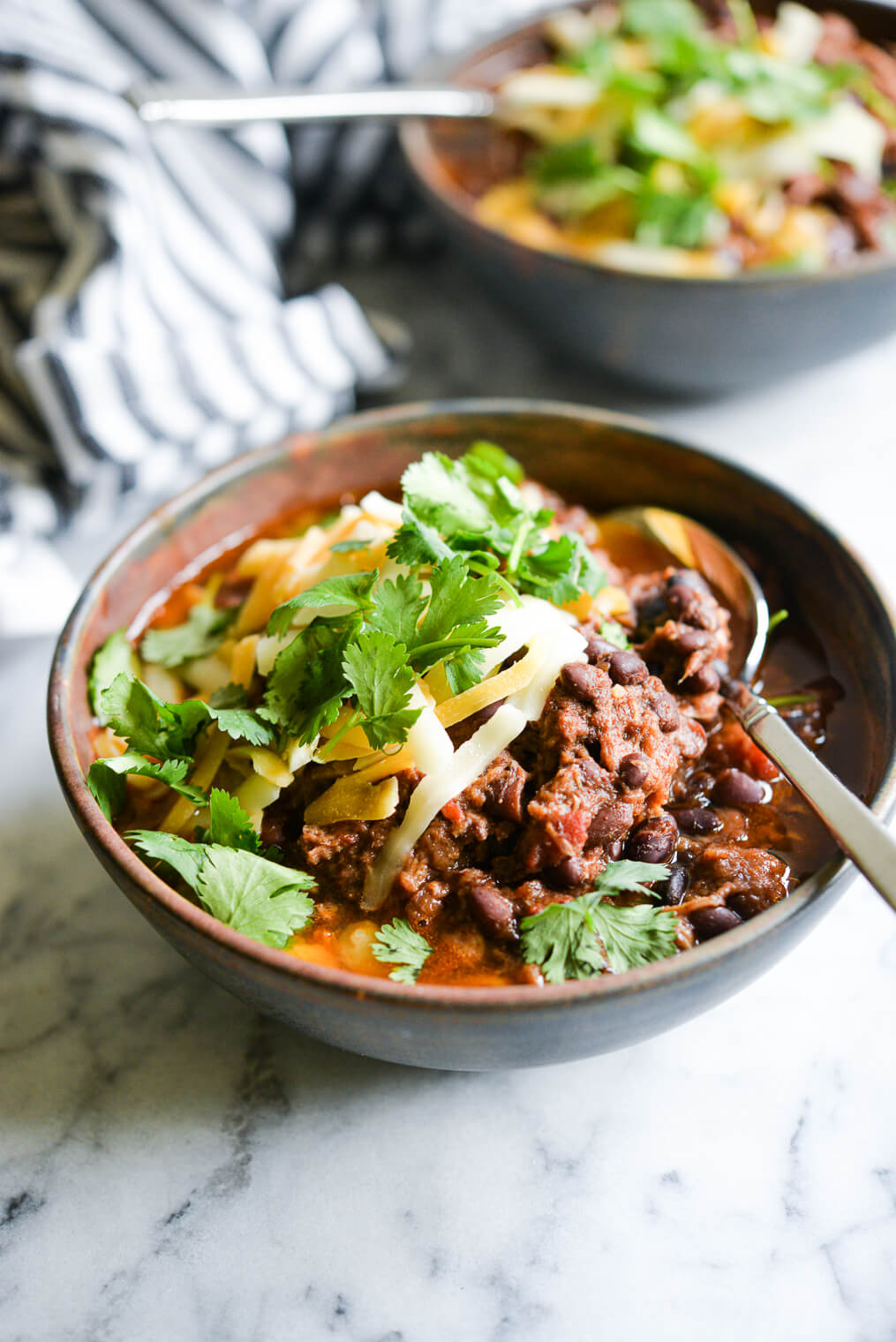 Best Ever Slow Cooker Chili Recipe Fed Fit