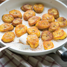 Pan-Fried Sweet Plantains