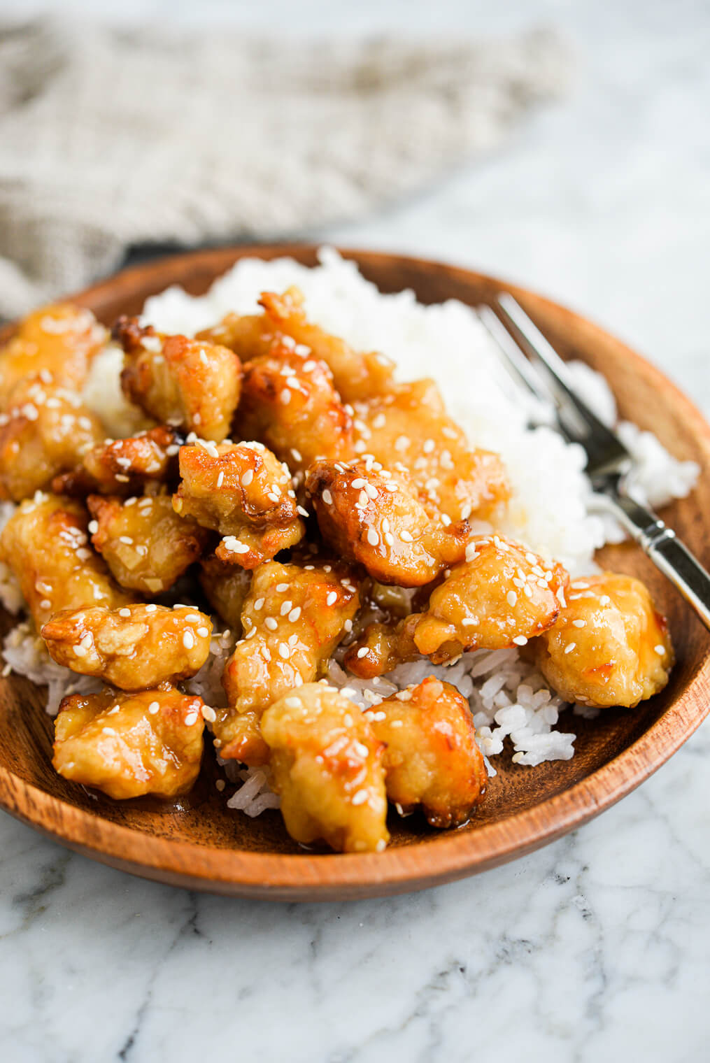 Crispy General Tso S Chicken Recipe Fed Fit