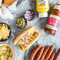 How to Make the Ultimate Hot Dog Bar | Fed & Fit