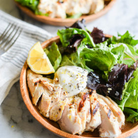 Lemon Pepper Yogurt Grilled Chicken