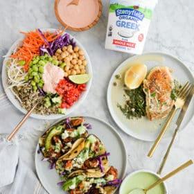 3 30-Minute Dinners Using Greek Yogurt