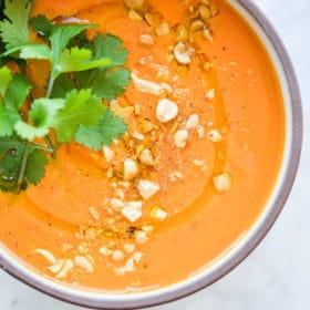 Thai-Inspired Carrot Soup