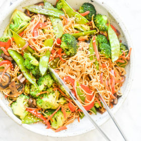 The Best Veggie Stir Fry with Noodles