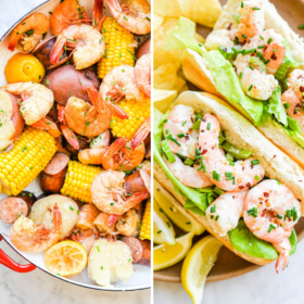 Two Dinners Using Shrimp