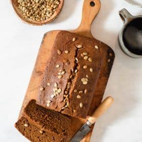Homemade Healthy Pumpkin Bread Recipe