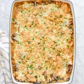 Creamy Chicken Rice Casserole