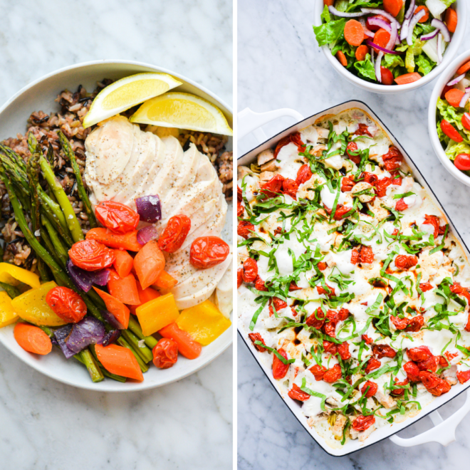two dinners that use chicken breasts,